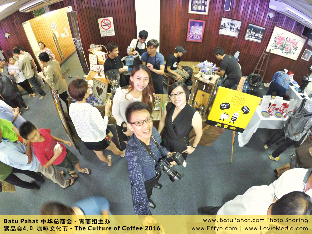 Raymond Ong Effye Ang Mandy Lee RaymondOnline Raymond Online EffyeAng MandyLevie Mandy Levie 中华总商会 青商组 咖啡文化节 culture of coffee at Malaysia - Effye and Levie Media Online Advertising A01