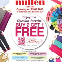 Millen Shop Opening Promotion