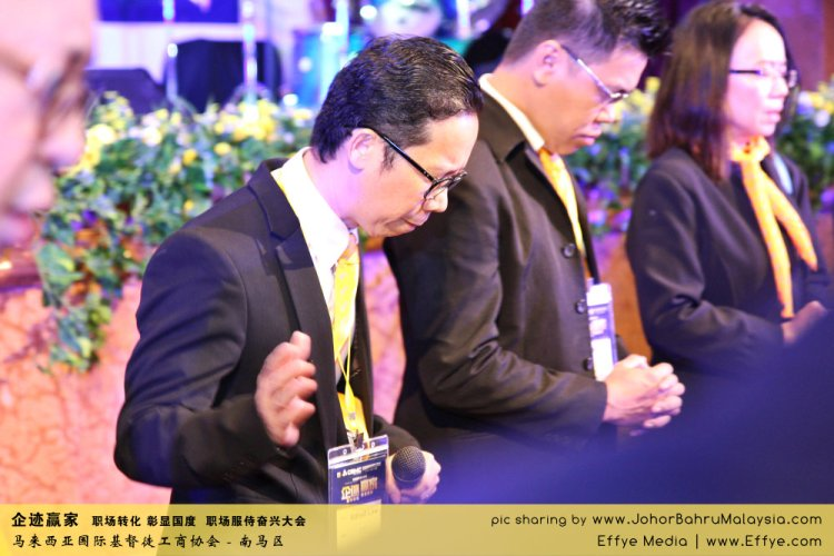 企迹赢家 职场转化 彰显国度 职场服侍奋兴大会 CBMC Malaysia Christian Business and Marketplace Cennection 马来西亚国际基督徒工商协会 Preparation at Johor Bahru Malaysia A23