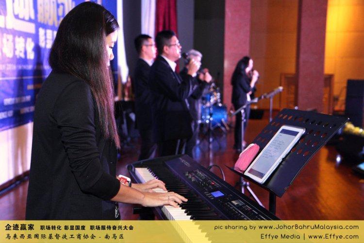 企迹赢家 职场转化 彰显国度 职场服侍奋兴大会 CBMC Malaysia Christian Business and Marketplace Cennection 马来西亚国际基督徒工商协会 唱诗歌 Group Photo at Johor Bahru Malaysia A01