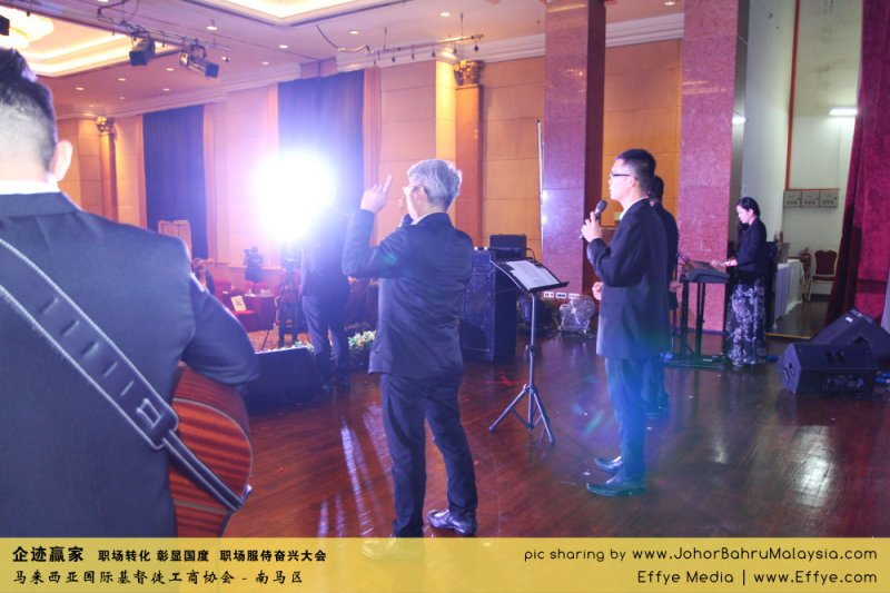 企迹赢家 职场转化 彰显国度 职场服侍奋兴大会 CBMC Malaysia Christian Business and Marketplace Cennection 马来西亚国际基督徒工商协会 唱诗歌 Group Photo at Johor Bahru Malaysia A04