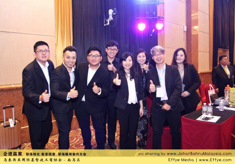 企迹赢家 职场转化 彰显国度 职场服侍奋兴大会 CBMC Malaysia Christian Business and Marketplace Cennection 马来西亚国际基督徒工商协会 唱诗歌 Group Photo at Johor Bahru Malaysia A11