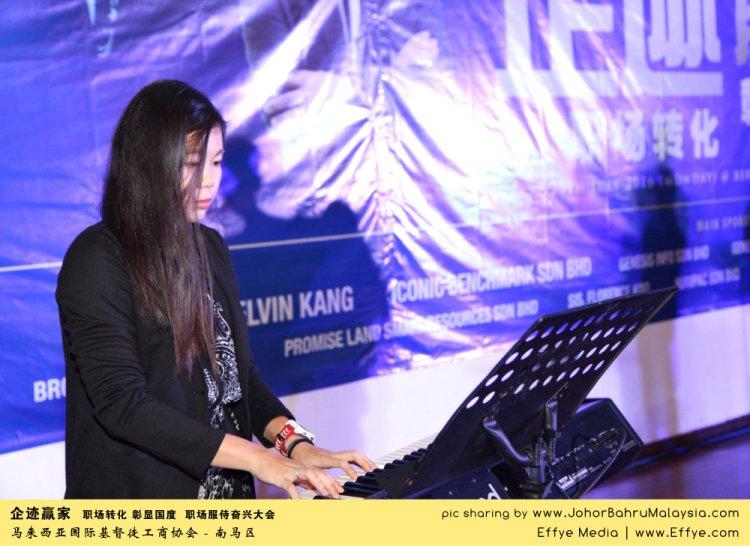 企迹赢家 职场转化 彰显国度 职场服侍奋兴大会 CBMC Malaysia Christian Business and Marketplace Cennection 马来西亚国际基督徒工商协会 唱诗歌 Group Photo at Johor Bahru Malaysia A27