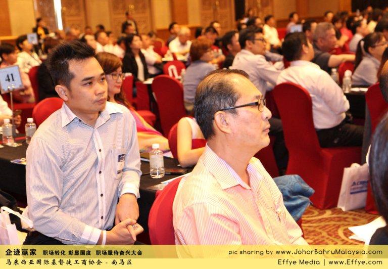 企迹赢家 职场转化 彰显国度 职场服侍奋兴大会 CBMC Malaysia Christian Business and Marketplace Cennection 马来西亚国际基督徒工商协会 Speaker at Johor Bahru Malaysia B13