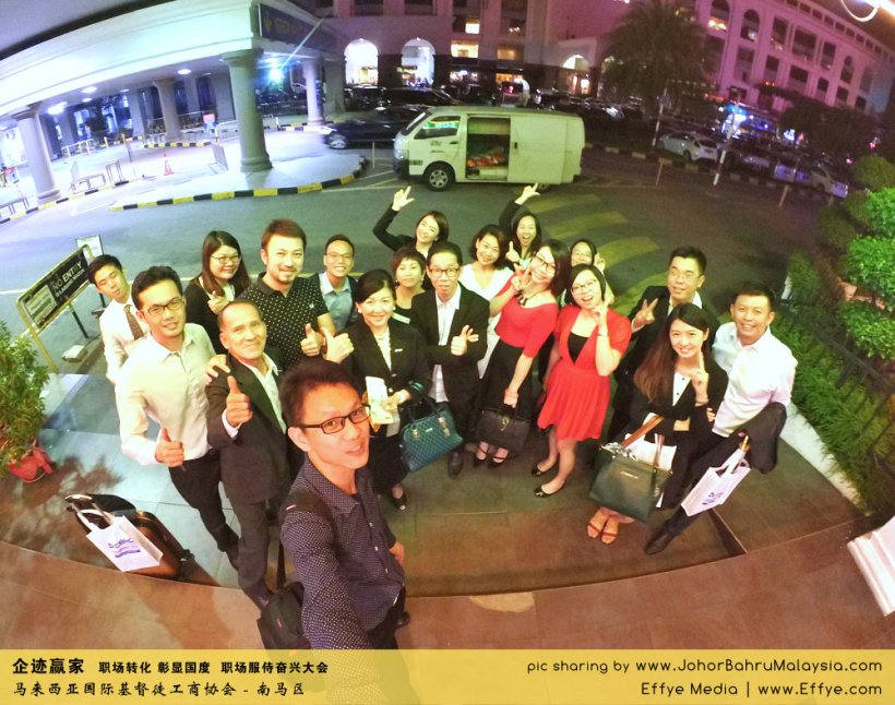 企迹赢家 职场转化 彰显国度 职场服侍奋兴大会 CBMC Malaysia Christian Business and Marketplace Cennection 马来西亚国际基督徒工商协会 大合照 Raymond Ong at Johor Bahru Malaysia A06