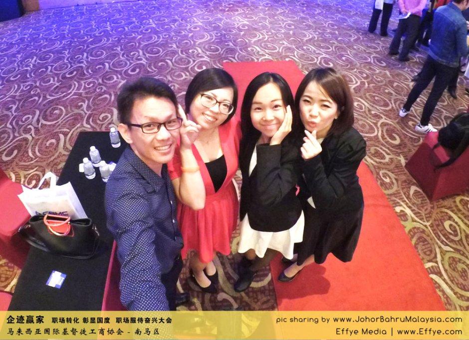企迹赢家 职场转化 彰显国度 职场服侍奋兴大会 CBMC Malaysia Christian Business and Marketplace Cennection 马来西亚国际基督徒工商协会 大合照 Raymond Ong at Johor Bahru Malaysia A20