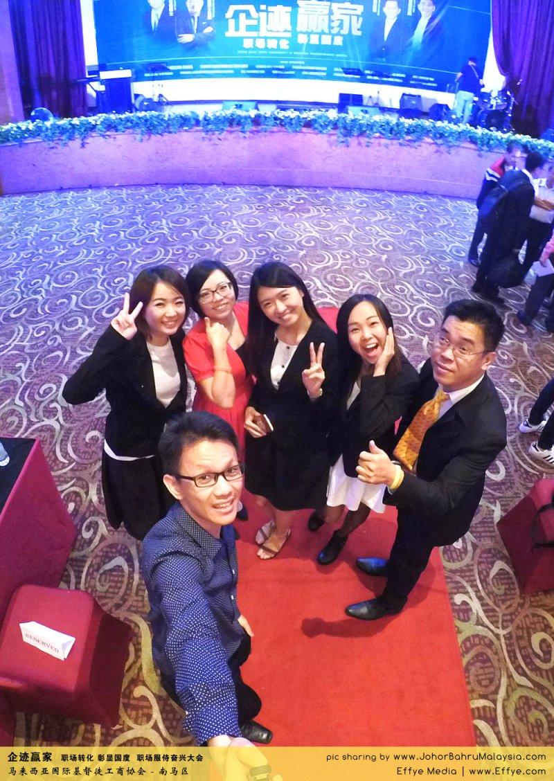 企迹赢家 职场转化 彰显国度 职场服侍奋兴大会 CBMC Malaysia Christian Business and Marketplace Cennection 马来西亚国际基督徒工商协会 大合照 Raymond Ong at Johor Bahru Malaysia A23