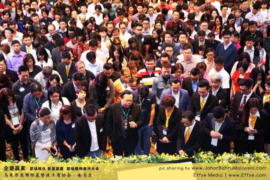 企迹赢家 职场转化 彰显国度 职场服侍奋兴大会 CBMC Malaysia Christian Business and Marketplace Cennection 马来西亚国际基督徒工商协会 大合照 Group Photo at Johor Bahru Malaysia A11