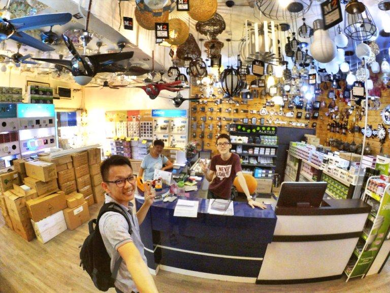 Batu Pahat Lighting M1 BP Lighting M One BP Lighting Effye Media Effye Online Advertising Darren Ong Raymond Ong Purchase Light and Fans A04 灯艺 灯饰