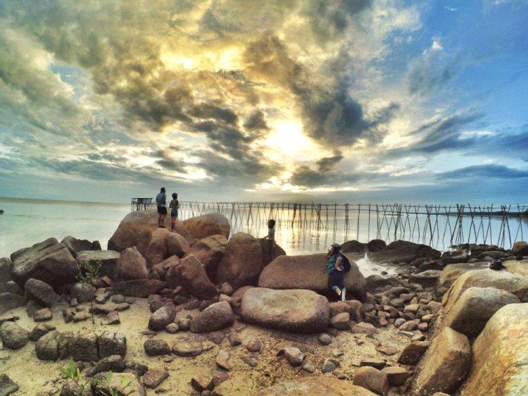 Malaysia Johor Batu Pahat Travel Tourist Attractions Koris Senggarang Batu Pahat Seaside Scenic Sports Raymond Ong Effye Media Online Advertising Website Development A20