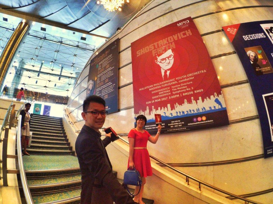 Malaysia Kuala Lumpur Malaysian Philharmonic Youth Orchestra MPYO Naohisa Furusawa Conductor Shostakovich Smetana Raymond Ong Effye Ang Effye Media Online Advertising A18