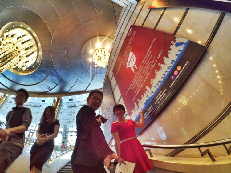 Malaysia Kuala Lumpur Malaysian Philharmonic Youth Orchestra MPYO Naohisa Furusawa Conductor Shostakovich Smetana Raymond Ong Effye Ang Effye Media Online Advertising A19