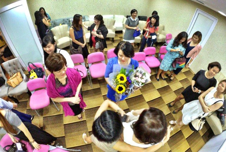 Malaysia Johor Johor Bahru Jess Mok Women Talk 女人行 Datin Sri Dato Cynthia Kathy Teng Beaute Mori Joan Cheong Rongen 張柔恩老師 Raymond Ong Effye Ang Joey Kher A23 Web Delopmen