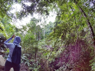 山里的故事 峇株巴辖 龙华山庄 后山 Gunung Puncak Batu Pahat Johor Malaysia Raymond Ong A06