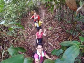 山里的故事 峇株巴辖 龙华山庄 后山 Gunung Puncak Batu Pahat Johor Malaysia Raymond Ong A15