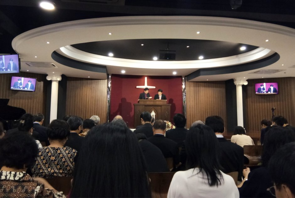 吉隆坡归正福音教会献堂礼 唐崇荣牧师 Dedication Service of International Reformed Evangelical Church of Kuala Lumpur IRECKL Rev Dr Stephen Tong A12