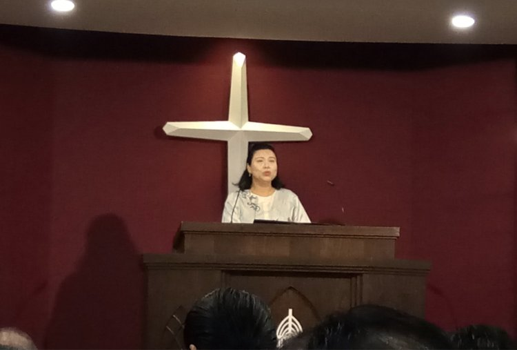 吉隆坡归正福音教会献堂礼 唐崇荣牧师 Dedication Service of International Reformed Evangelical Church of Kuala Lumpur IRECKL Rev Dr Stephen Tong A14