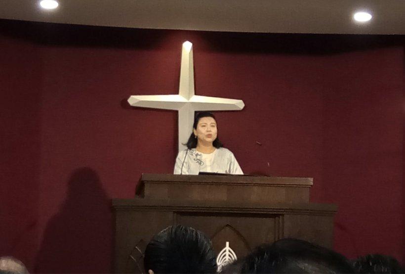 吉隆坡归正福音教会献堂礼 唐崇荣牧师 Dedication Service of International Reformed Evangelical Church of Kuala Lumpur IRECKL Rev Dr Stephen Tong A14