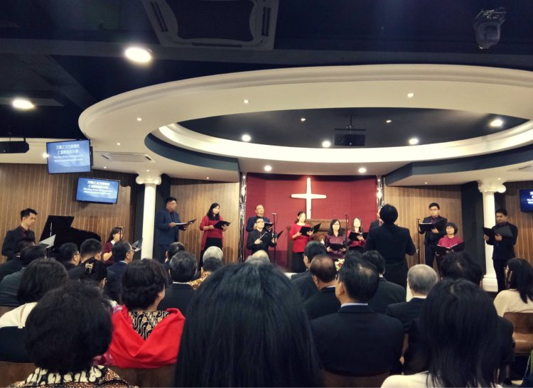 吉隆坡归正福音教会献堂礼 唐崇荣牧师 Dedication Service of International Reformed Evangelical Church of Kuala Lumpur IRECKL Rev Dr Stephen Tong A15