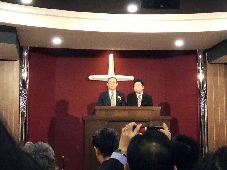 吉隆坡归正福音教会献堂礼 唐崇荣牧师 Dedication Service of International Reformed Evangelical Church of Kuala Lumpur IRECKL Rev Dr Stephen Tong A16