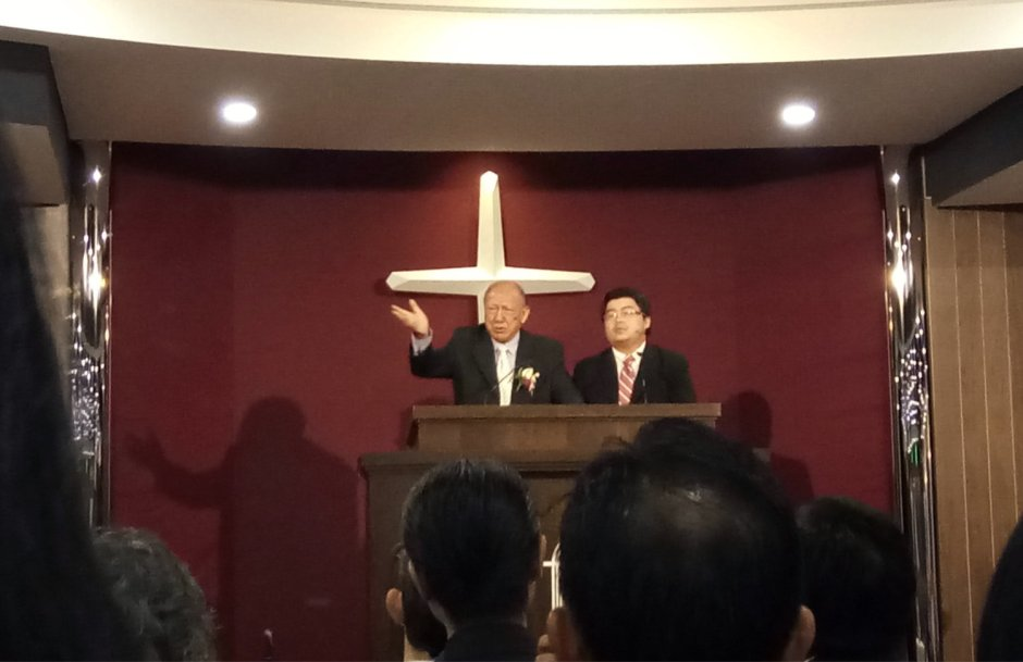 吉隆坡归正福音教会献堂礼 唐崇荣牧师 Dedication Service of International Reformed Evangelical Church of Kuala Lumpur IRECKL Rev Dr Stephen Tong A17