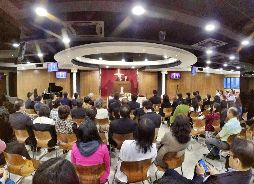吉隆坡归正福音教会献堂礼 唐崇荣牧师 Dedication Service of International Reformed Evangelical Church of Kuala Lumpur IRECKL Rev Dr Stephen Tong A18