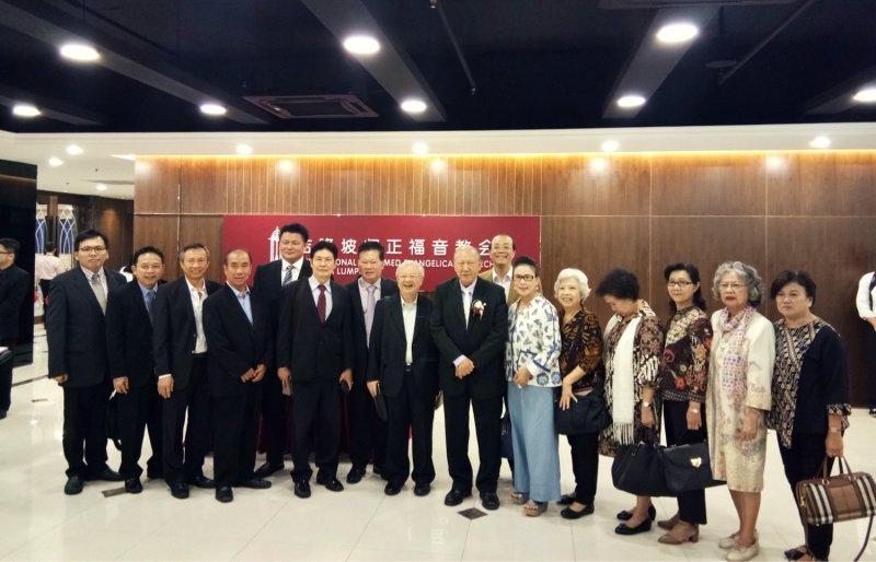吉隆坡归正福音教会献堂礼 唐崇荣牧师 Dedication Service of International Reformed Evangelical Church of Kuala Lumpur IRECKL Rev Dr Stephen Tong A09