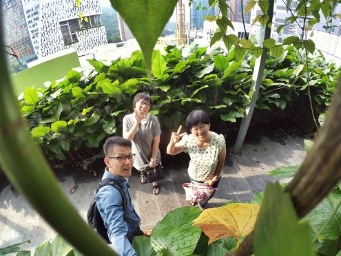 Raymond Ong and Effye Ang walk around with Mum Ng Siok Gek in Malaysia 和妈妈逛街 A08