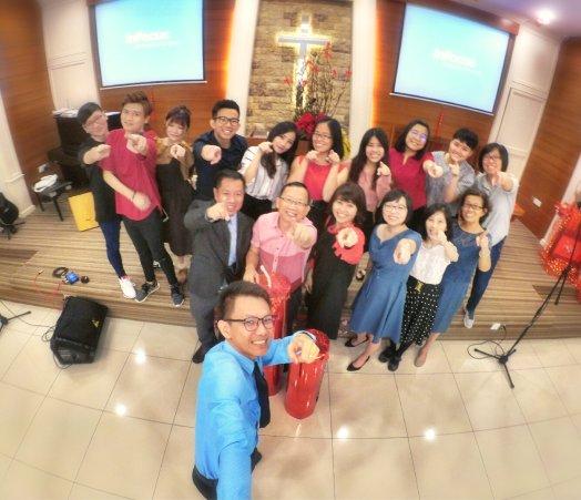 Raymond Ong Effye Ang Chinese New Year 2018 Gereja Joy Soga Batu Pahat Johor Malaysia 农历新春2018 苏雅喜乐教堂 A001
