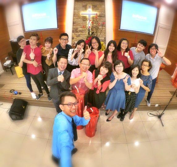 Raymond Ong Effye Ang Chinese New Year 2018 Gereja Joy Soga Batu Pahat Johor Malaysia 农历新春2018 苏雅喜乐教堂 A002