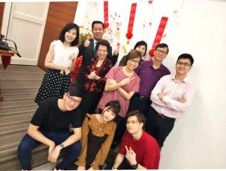 Raymond Ong Effye Ang Chinese New Year 2018 Gereja Joy Soga Batu Pahat Johor Malaysia 农历新春2018 苏雅喜乐教堂 B005