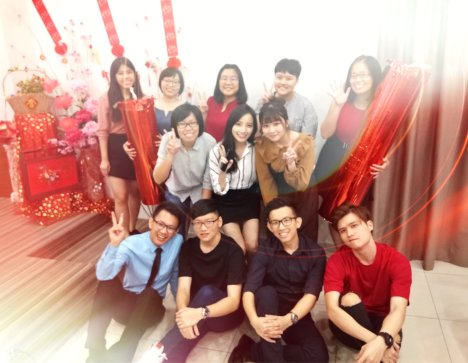 Raymond Ong Effye Ang Chinese New Year 2018 Gereja Joy Soga Batu Pahat Johor Malaysia 农历新春2018 苏雅喜乐教堂 B007
