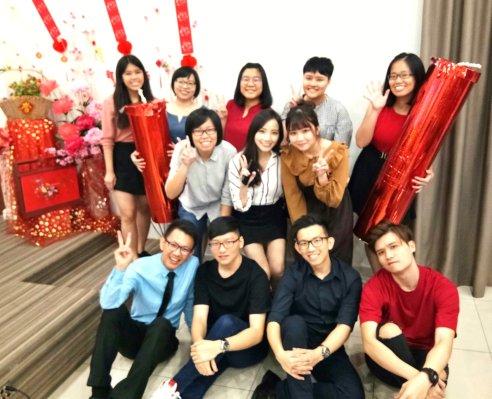 Raymond Ong Effye Ang Chinese New Year 2018 Gereja Joy Soga Batu Pahat Johor Malaysia 农历新春2018 苏雅喜乐教堂 B009