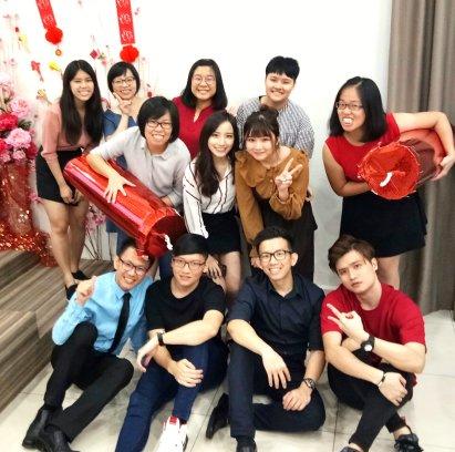 Raymond Ong Effye Ang Chinese New Year 2018 Gereja Joy Soga Batu Pahat Johor Malaysia 农历新春2018 苏雅喜乐教堂 B010