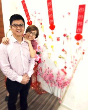 Raymond Ong Effye Ang Chinese New Year 2018 Gereja Joy Soga Batu Pahat Johor Malaysia 农历新春2018 苏雅喜乐教堂 B013