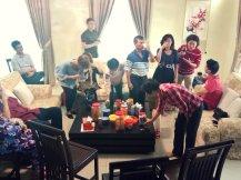 Raymond Ong Effye Ang Family Gathering at Melaka Malaysia Matthew Ong House Chinese New Year 2018 农历新春2018 家庭聚会 C012