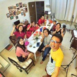 Raymond Ong Effye Ang KC Gan Grace Teo Lydia Loy Syng Yee Low Quan Qi Batu Pahat Johor Malaysia 农历新春2018 A003