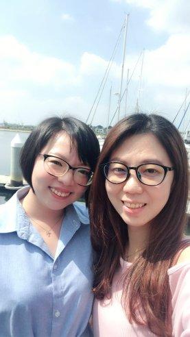 Raymond Ong Effye Ang Wai Shim Kong Chinese New Year 2018 Gathering at Senibong Cove Yews Cafe Johor Bahru Johor Malaysia 农历新年聚会 新山 柔佛 马来西亚 A20