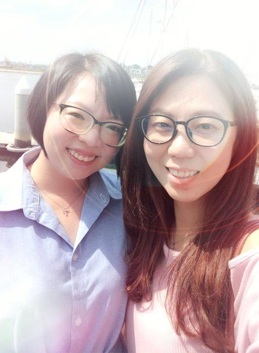 Raymond Ong Effye Ang Wai Shim Kong Chinese New Year 2018 Gathering at Senibong Cove Yews Cafe Johor Bahru Johor Malaysia 农历新年聚会 新山 柔佛 马来西亚 A21
