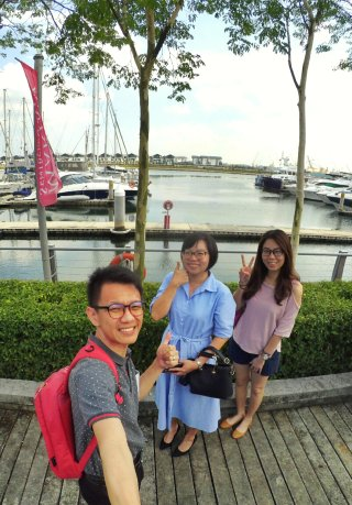 Raymond Ong Effye Ang Wai Shim Kong Chinese New Year 2018 Gathering at Senibong Cove Yews Cafe Johor Bahru Johor Malaysia 农历新年聚会 新山 柔佛 马来西亚 A08