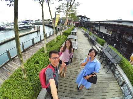Raymond Ong Effye Ang Wai Shim Kong Chinese New Year 2018 Gathering at Senibong Cove Yews Cafe Johor Bahru Johor Malaysia 农历新年聚会 新山 柔佛 马来西亚 A10